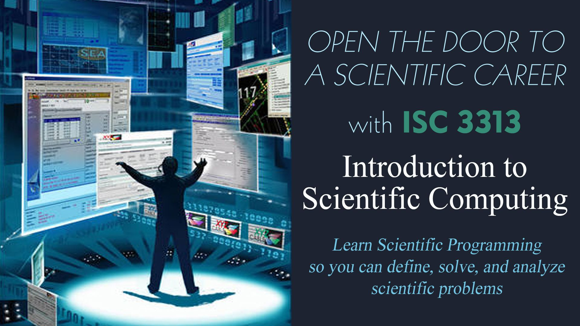 ISC 3313 - Introduction to Scientific Computing